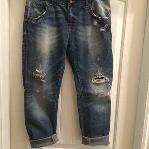 Zara boyfriend jeans size 10